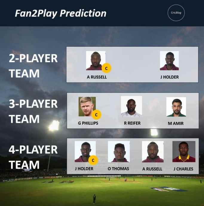 CPL 2021 Match 10: BR vs JAM Dream11 & Fan2Play Prediction Possible Playing 11 Pitch Report   BAR vs JAM Dream11 Prediction Today   Barbados Royals vs Jamaica Tallawahs Key Players   St Kitts Pitch Report