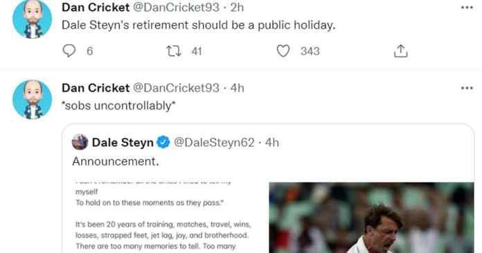 Cricket News: Dale Steyn retires - Twitter reactions