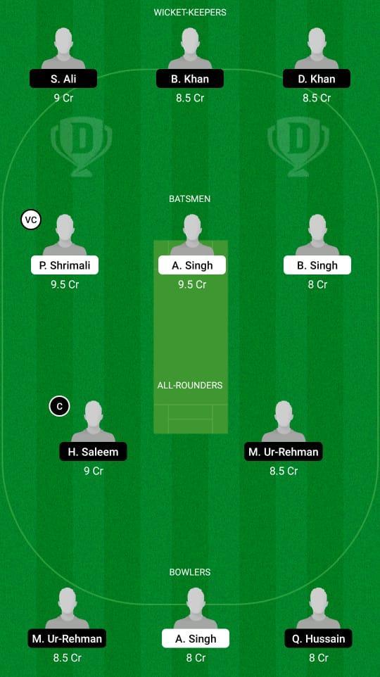 BLP vs BSH Dream11 Prediction Fantasy Cricket Tips Dream11 Team ECS T10 Barcelona