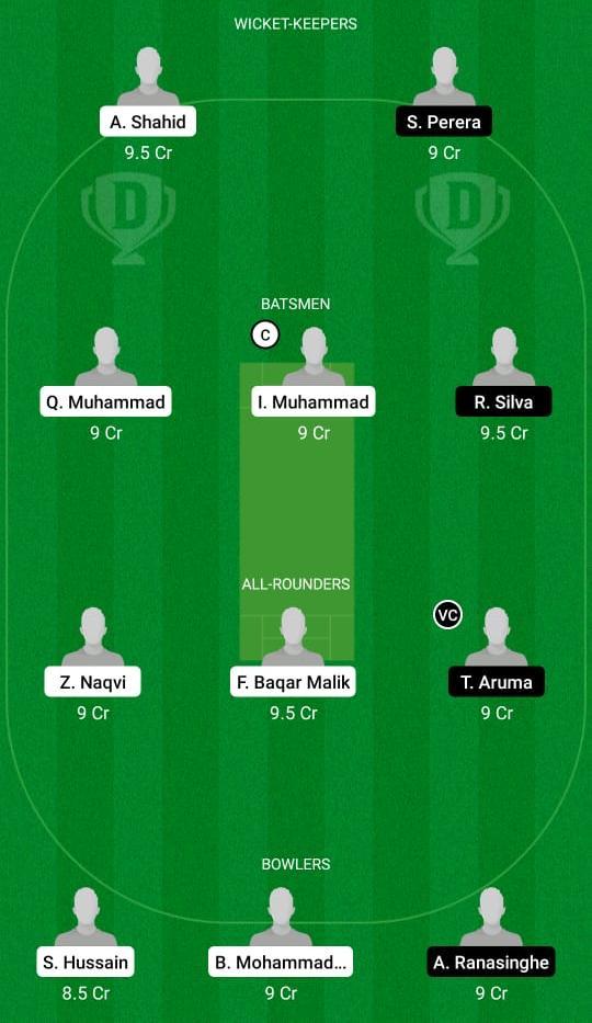 FT vs MU Dream11 Prediction Fantasy Cricket Tips Dream11 Team ECS T10 Milan