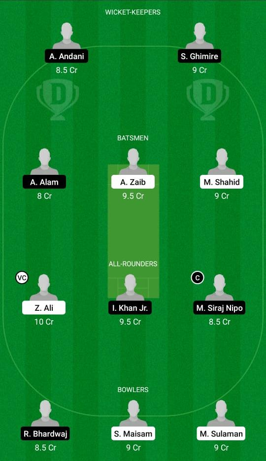 MAL vs GOR Dream11 Prediction Fantasy Cricket Tips Dream11 Team Portugal T10