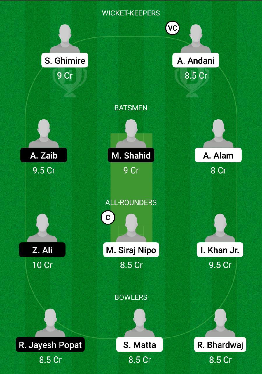 GOR vs MAL Dream11 Prediction Fantasy Cricket Tips Dream11 Team Portugal T10