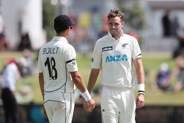Trent Boult and Tim Southee