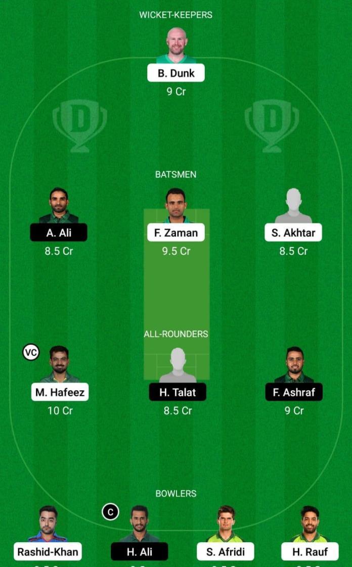 LAH vs ISL Dream11 Prediction Fantasy Cricket Tips Dream11 Team Pakistan Super League