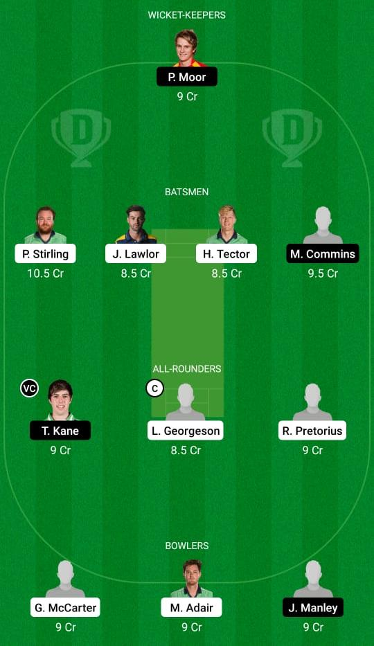 NK vs MUR Dream11 Prediction Fantasy Cricket Tips Dream11 Team Ireland Inter Provincial