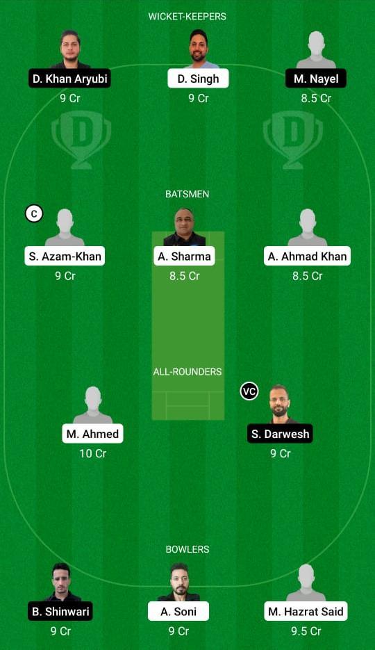 KSV vs SCE Dream11 Prediction Fantasy Cricket Tips Dream11 Team ECS T10 Kiel