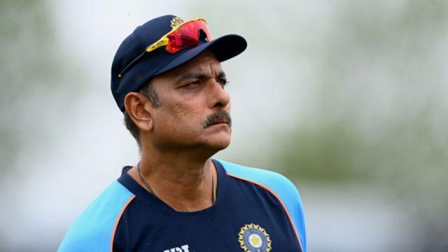 भारत क्रिकेट कोच रवि शास्त्री
