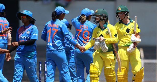 भारत बनाम ऑस्ट्रेलिया महिला
