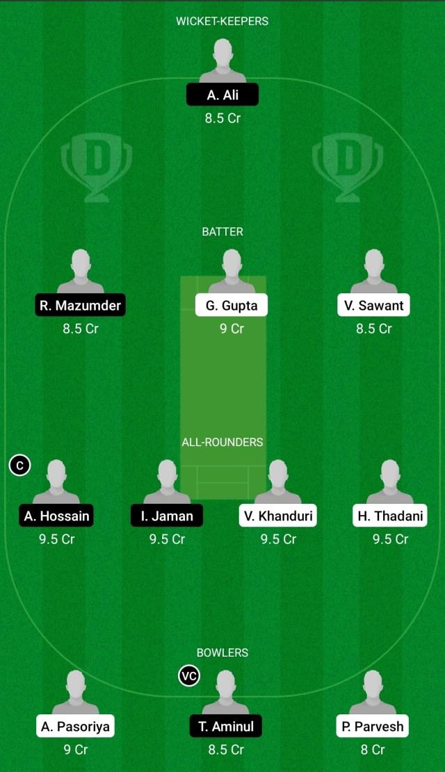 एएमडी बनाम एनसीटी ड्रीम11 भविष्यवाणी काल्पनिक क्रिकेट युक्तियाँ ड्रीम11 टीम फैनकोड ईसीएस टी10 साइप्रस