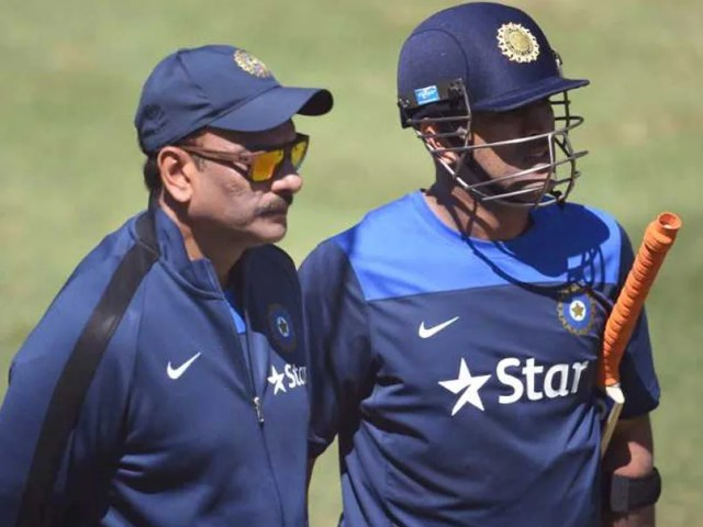 आईपीएल 2021: जीत के लिए प्रयास होगा - रवि शास्त्री को लगता है कि एमएस धोनी और सीएसके गति को बनाए रखना चाहेंगे