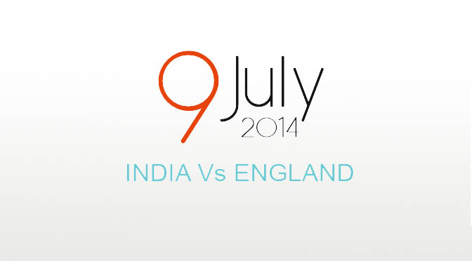 India tour of England 2014 Schedule