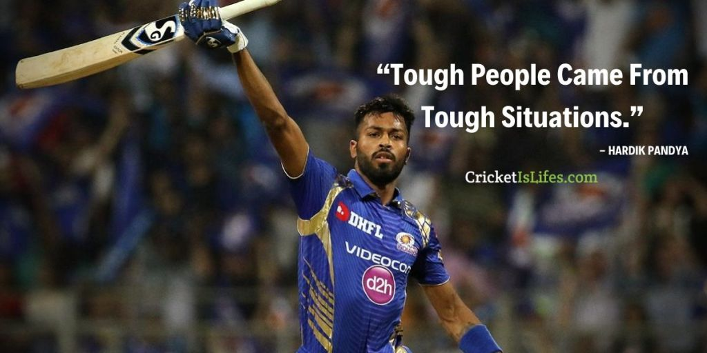 Tough People Came From Tough Situations.
