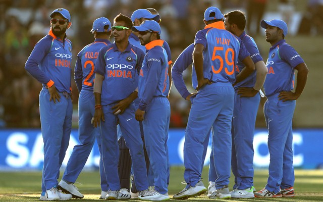Team India (Photo by Hannah Peters/Getty Images)