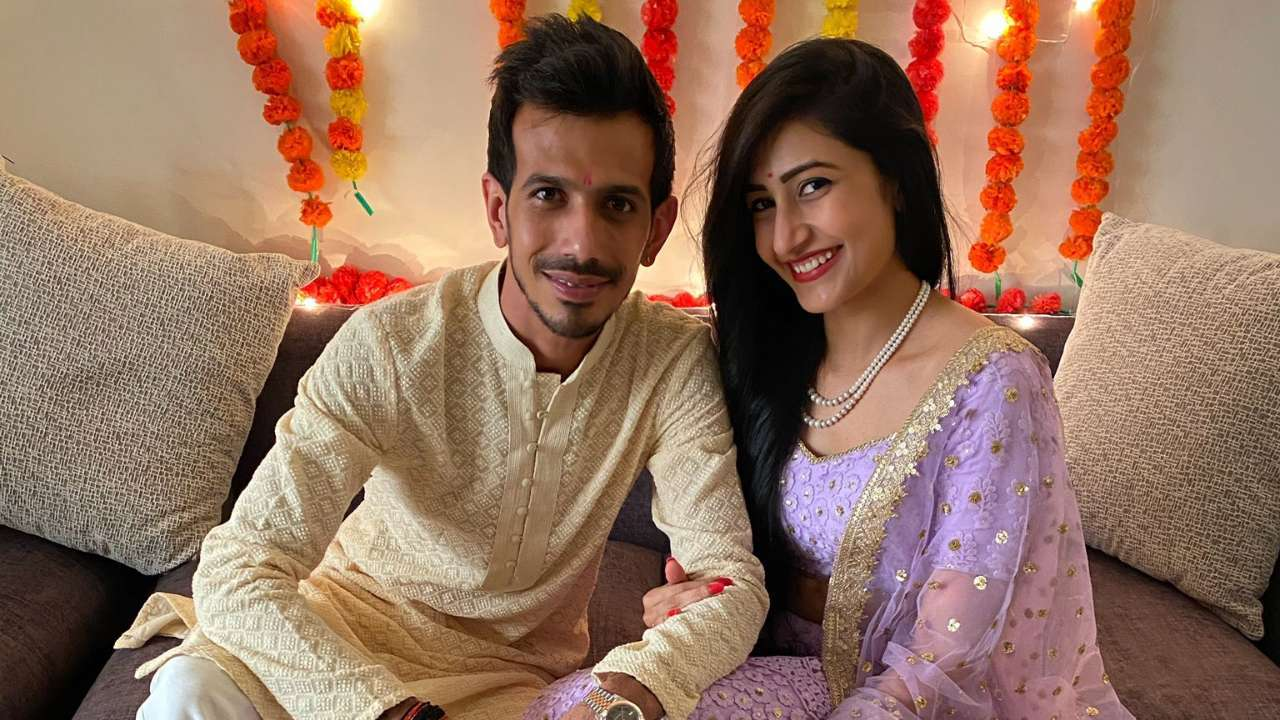 Yuzvendra Chahal and Dhanashree Verma