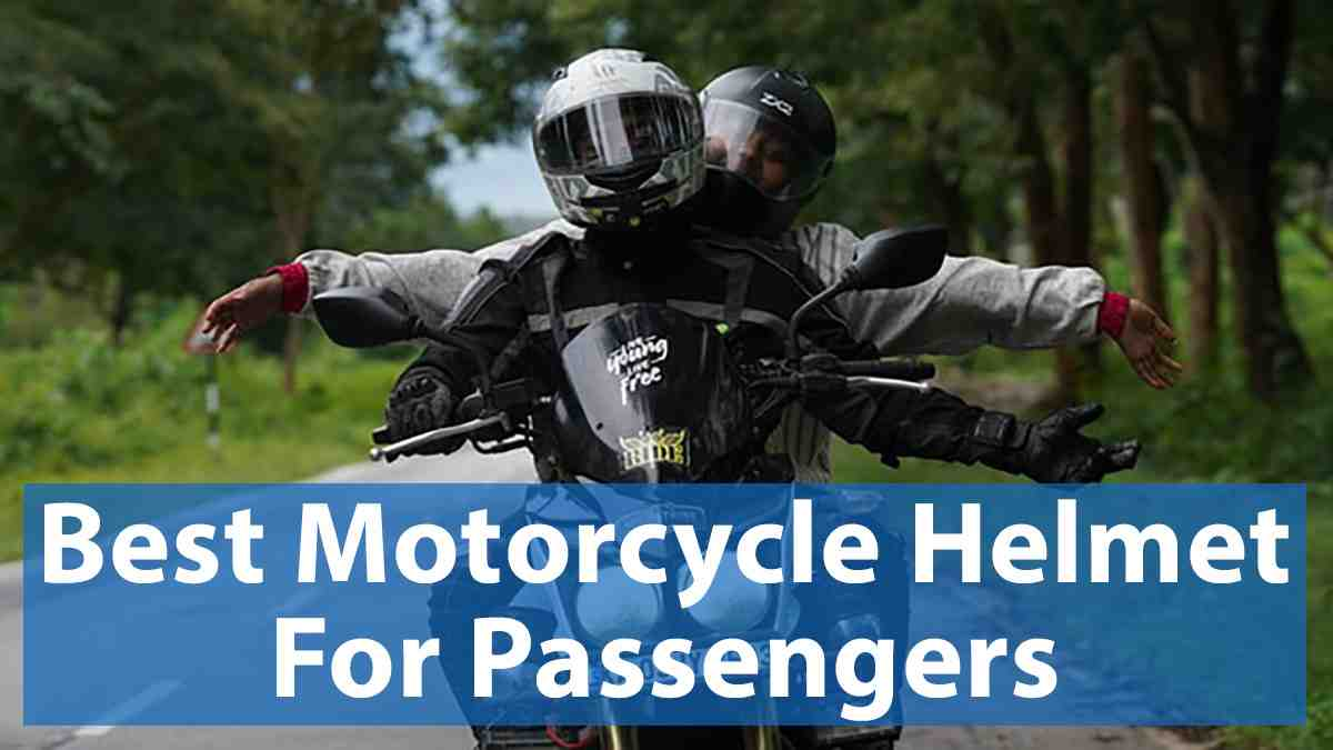 Read more about the article Best Motorcycle Helmet for Passenger ✔️ (2021 Picks)