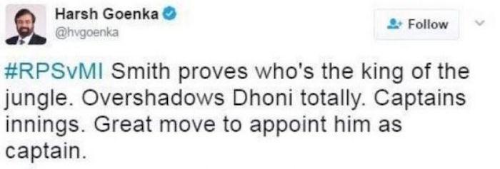 Harsh Goenka tweet
