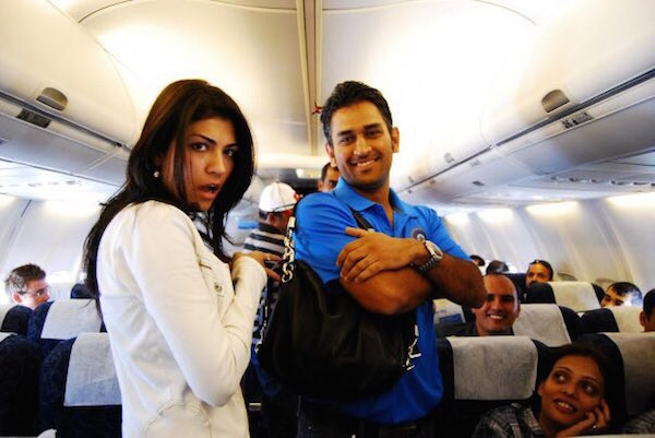 MS Dhoni and Archana Vijaya 2