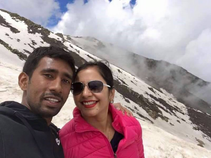 Wriddhiman Saha wife