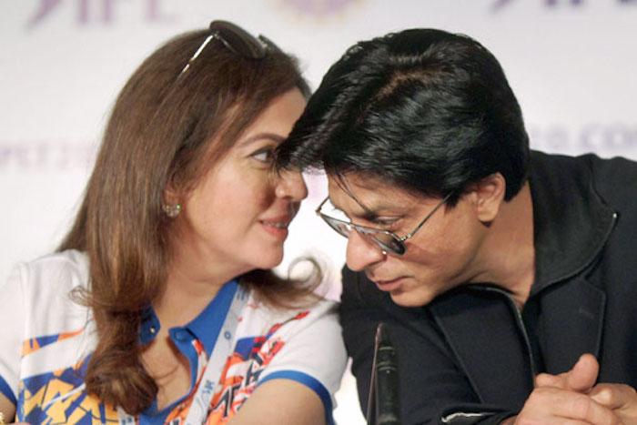 Shah Rukh Khan, Neeta Ambani