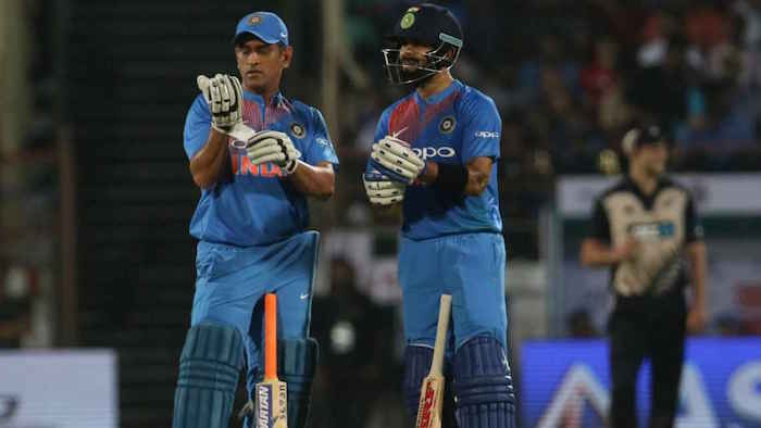 Virat and MS Dhoni 2nd T20I