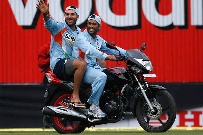 dhoni-on-bike