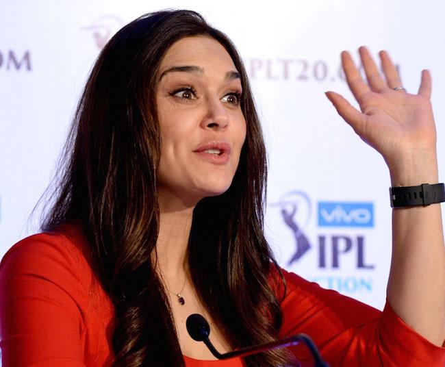 Preity Zinta IPL auction