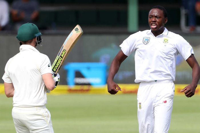 Kagiso Rabada, Steve Smith