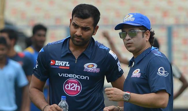 Rohit Sharma, Sachin Tendulkar