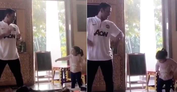 MS Dhoni, Ziva Dancing
