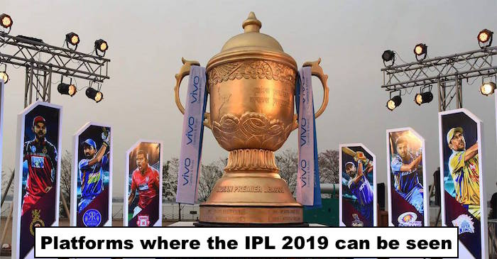 IPL 2019 TV channels & online streaming: Where to watch Live