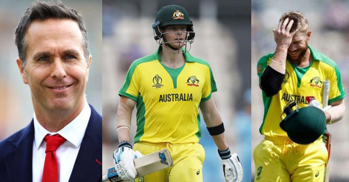 Michael Vaughan, Steve Smith, David Warner