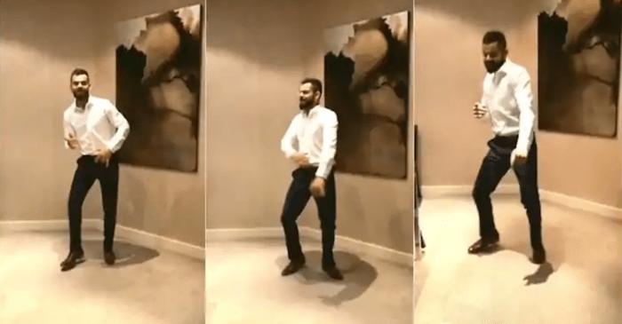 Virat Kohli dance