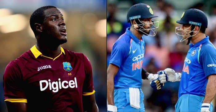 Carlos Brathwaite vs India