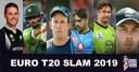 Euro T20 Slam schedule