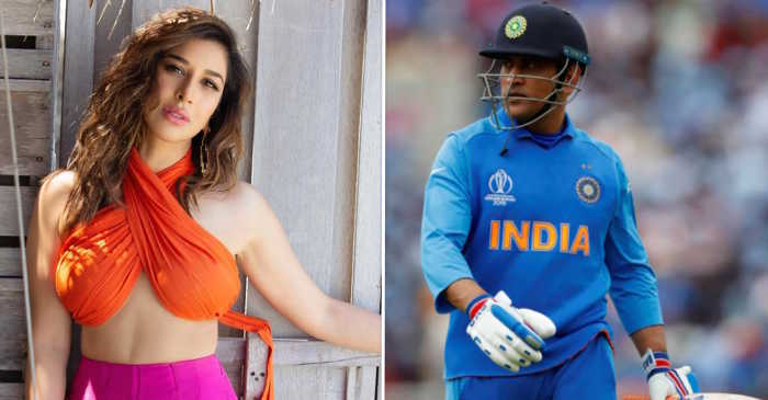 Sophie-Choudry-MS-Dhoni