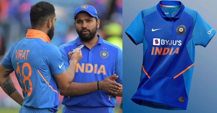 Team India Byju's Jersey