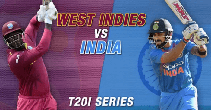 West Indies vs India, T20I series 2019: Fixtures, squads ...