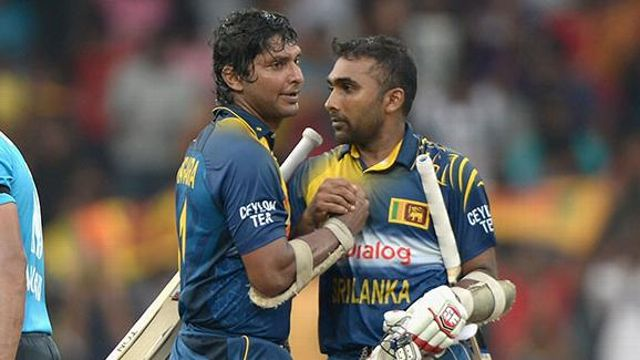 mahela and sangakkara best friends