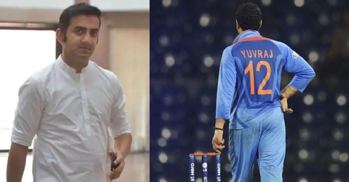 Gautam Gambhir, Yuvraj Singh jersey number 12