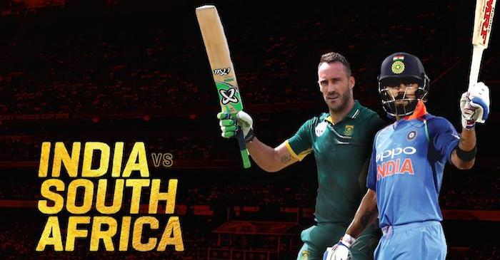 India Vs South Africa Series 2019 Fixtures Squads And