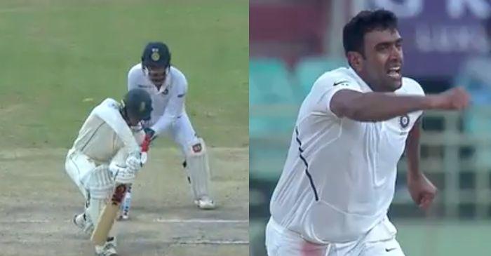 Quinton de Kock, Ravichandran Ashwin, Test