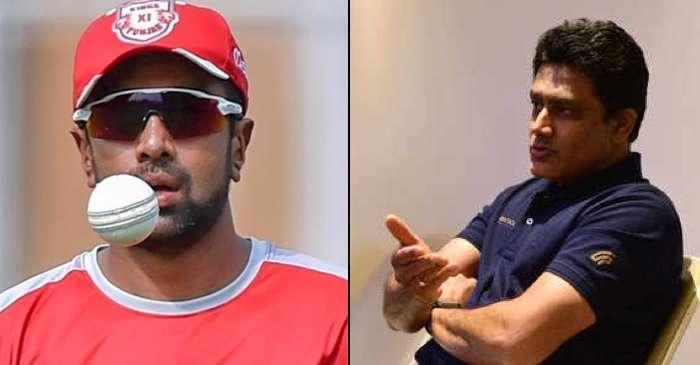 Ravichandran Ashwin, Anil Kumble