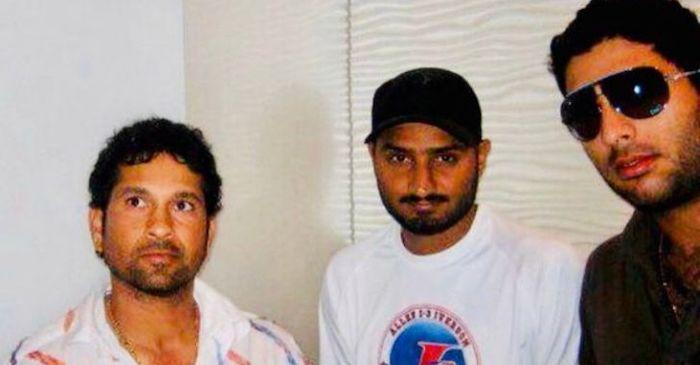 Sachin, Harbhajan, Yuvraj