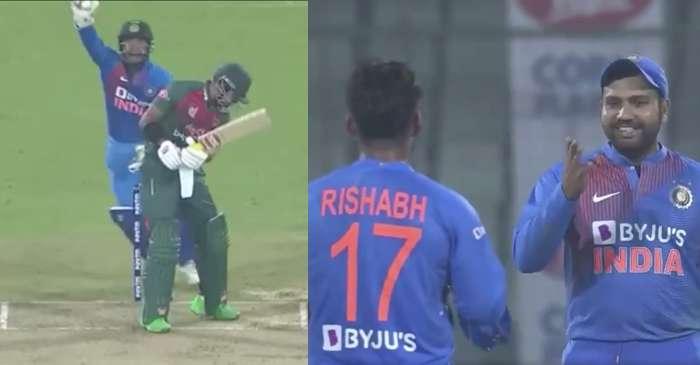 Rishabh Pant, Rohit Sharma