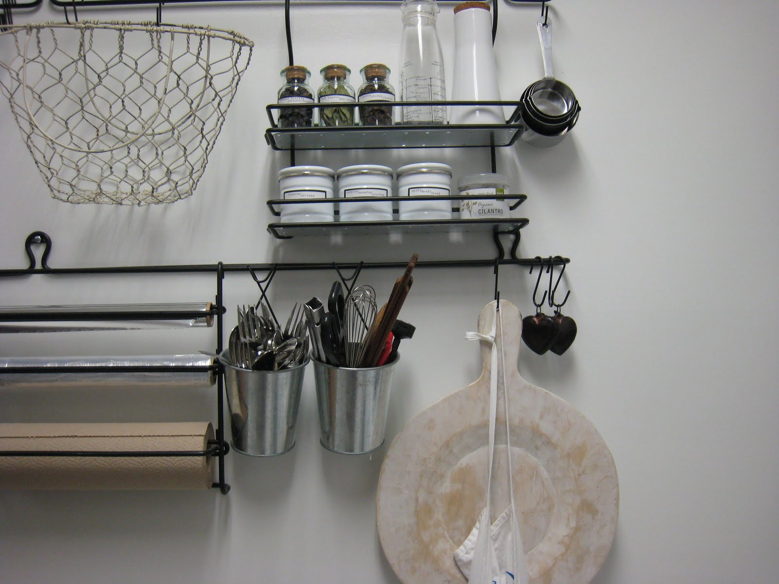 kitchen wall organizers the cricket
