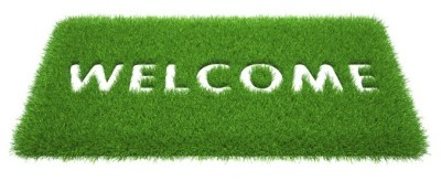 Grassy, green, welcome to cricket yorkshire mat