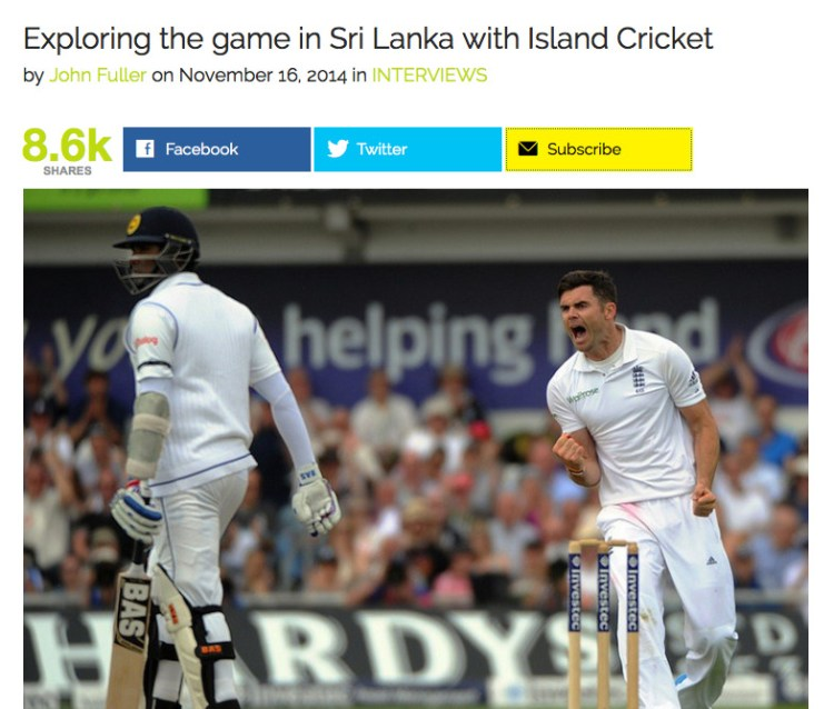 Island Cricket