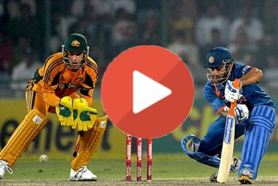 Watch India vs Australia 6th ODI Cricket Highlights