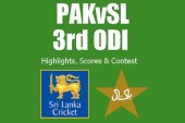 Pakistan vs Sri Lanka 3rd ODI | Live Scores, Highlights & Contest