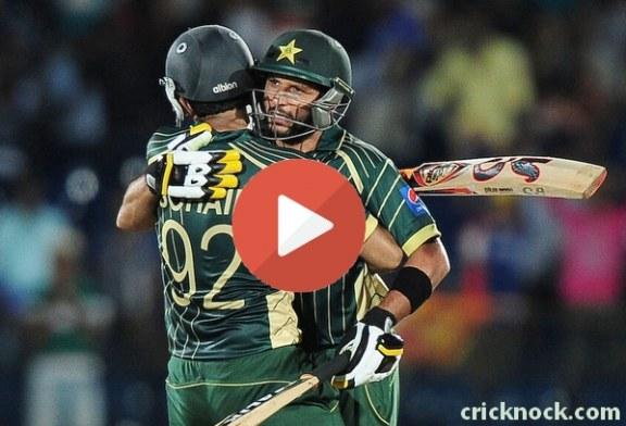 Watch Pakistan vs Sri Lanka 1st ODI Highlights